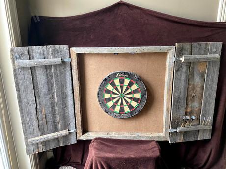 #20 Barnwood Dart Board