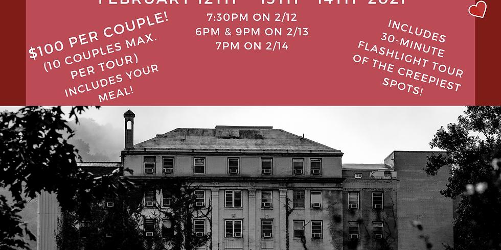 Bloody Valentine's Dinner & Flashlight Tour