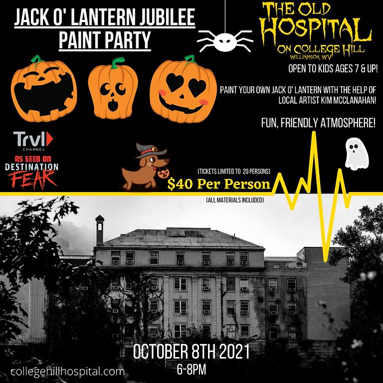Jack 'O Lantern Jubilee Paint Party - 10/8 : 6-8PM