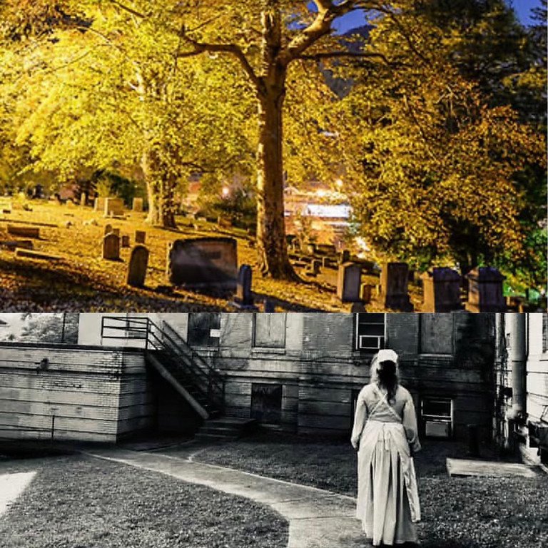 Guided Flashlight & Cemetery Tour!