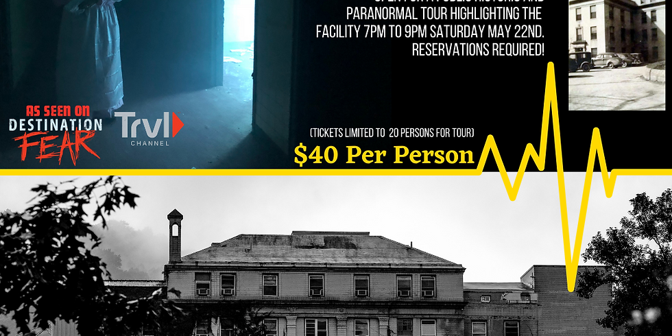 Historic/Paranormal Tour at the Old Hospital