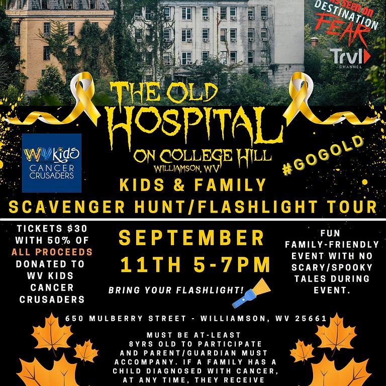 Kids Scavenger Hunt & Flashlight Tour