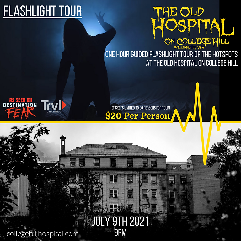 Flashlight Tour : 7/9 - 9PM