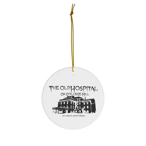College Hill Hospital - Ceramic Holiday Ornament