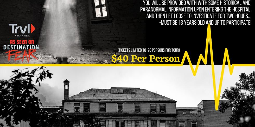 Public Ghost Hunt : 9/10 - 8-10PM