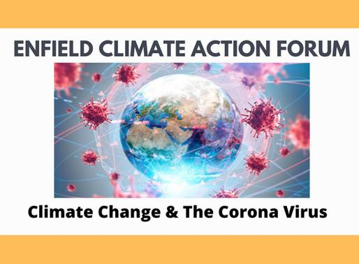 Climate Change & the Corona Virus