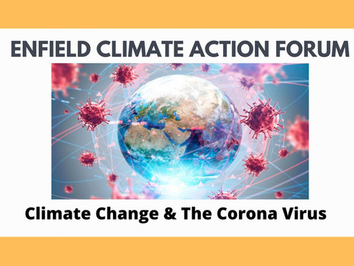 Climate Change & the Corona Virus