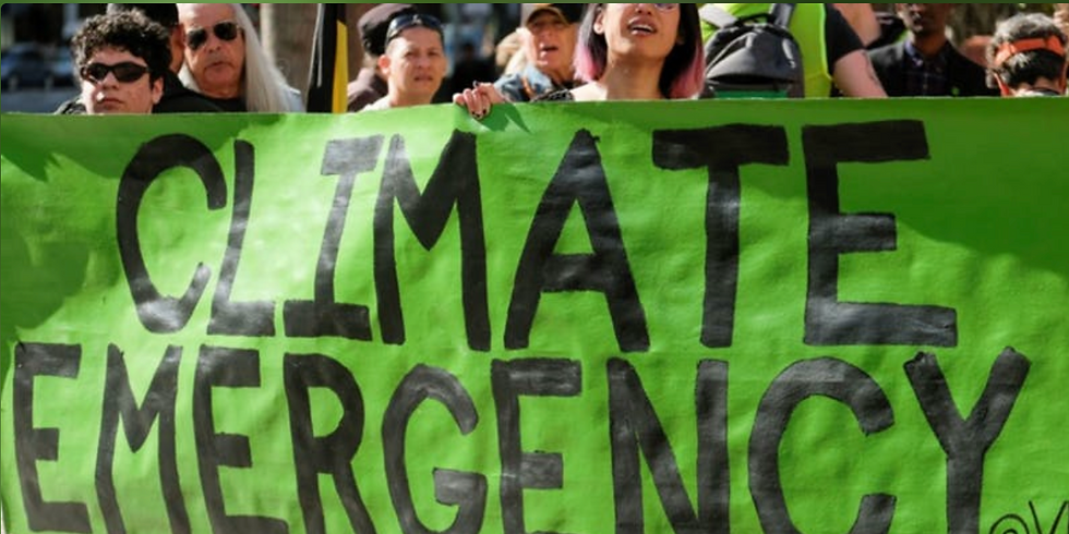Address The Climate Change Emergency