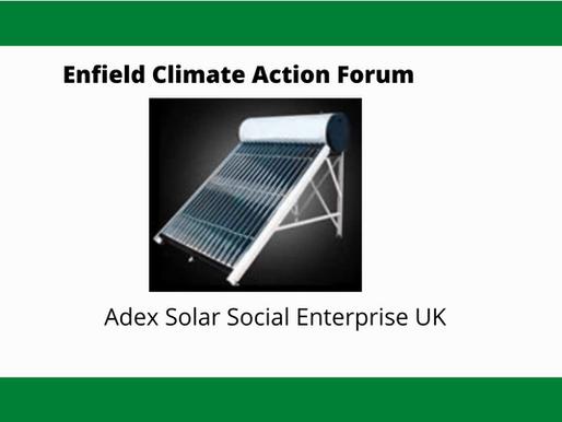 Adex Solar Social Enterprise UK