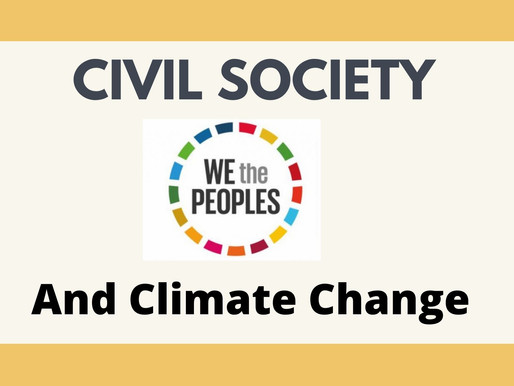 Civil Society And Climate Change