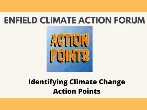 Identifying Climate Change Action Points