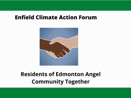 Residents of Edmonton Angel Community Together