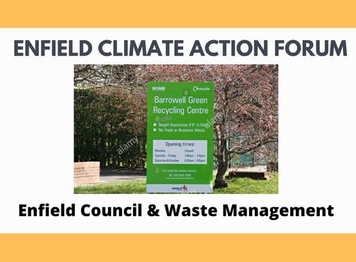 Enfield Council & Waste Management