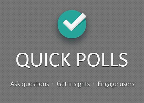 Quick Polls Overview | WIX App Market | Wix com