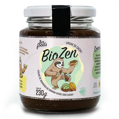 Biozen - Creme de Biomassa de Banana Verde com Cacau - 230g