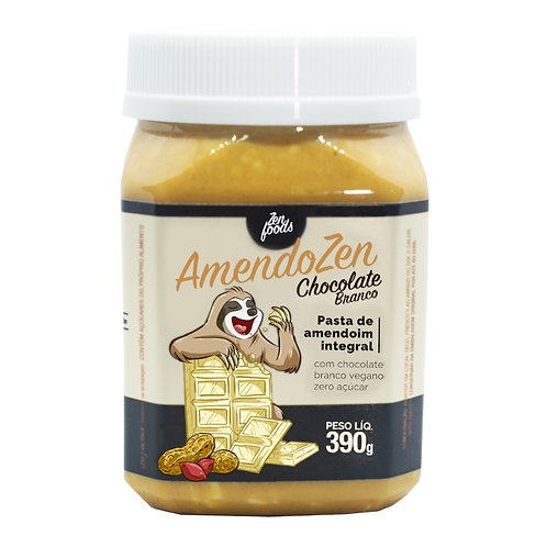 Amendozen Chocolate Branco Vegano - 390g