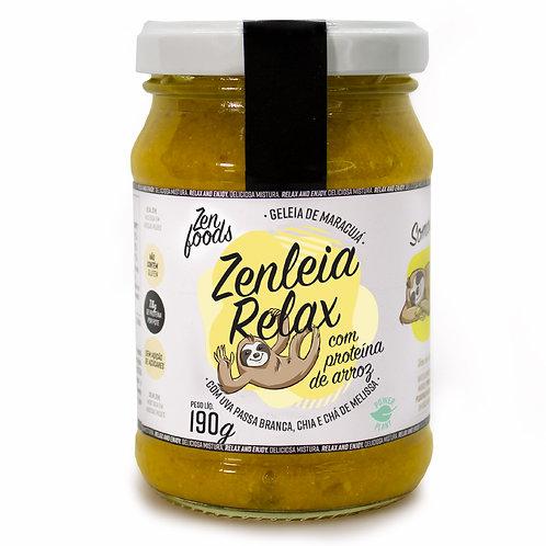 Zenleia Relax - Geleia de Maracujá com Proteína de Arroz - 190g