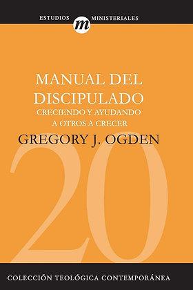 Manual del Discipulado (Coleccion Teologica Contemporanea: Estudios Ministerial