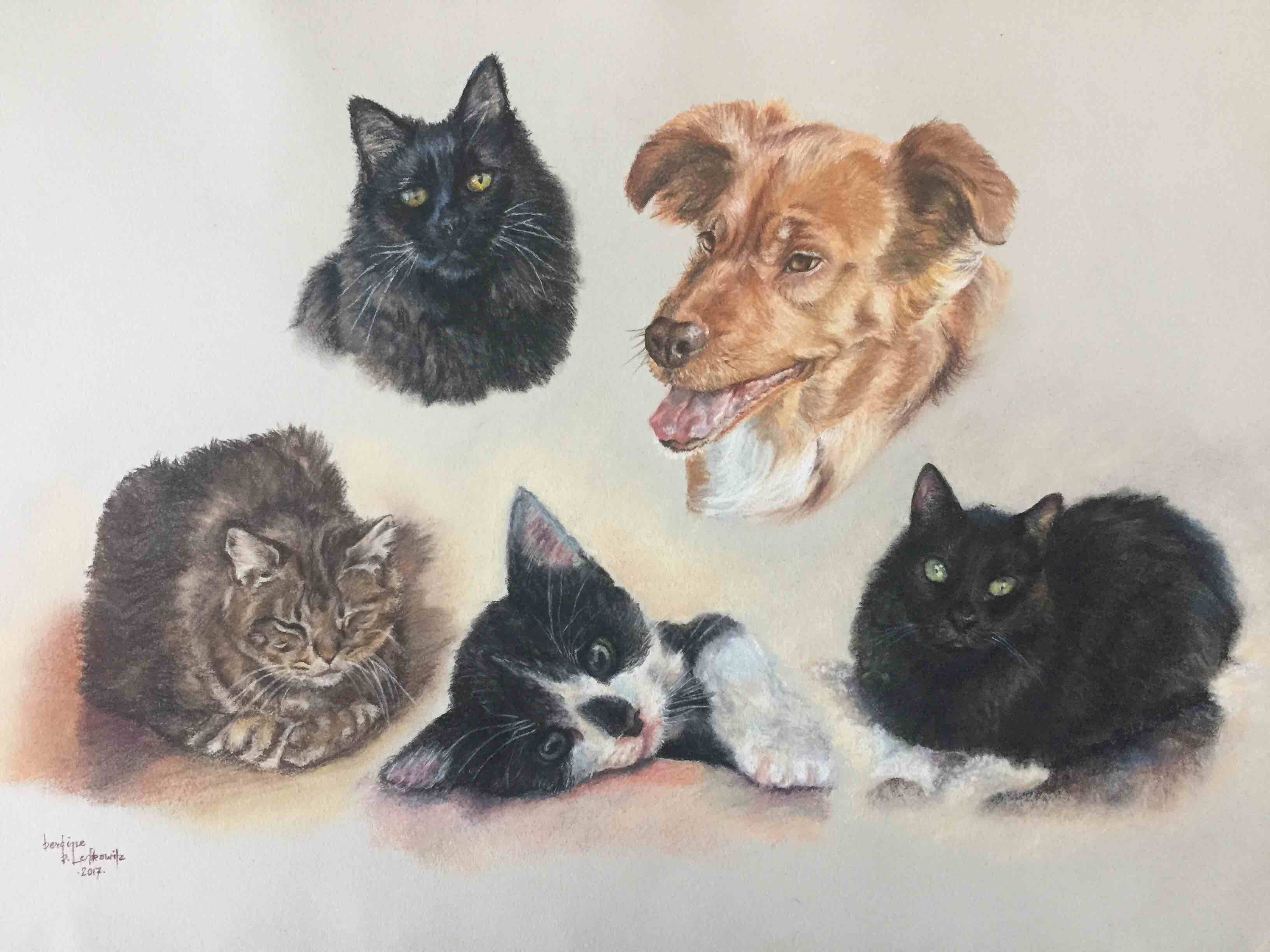 Furry Family of 5