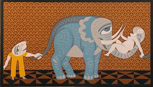 Её фантазии. Голубой слоник