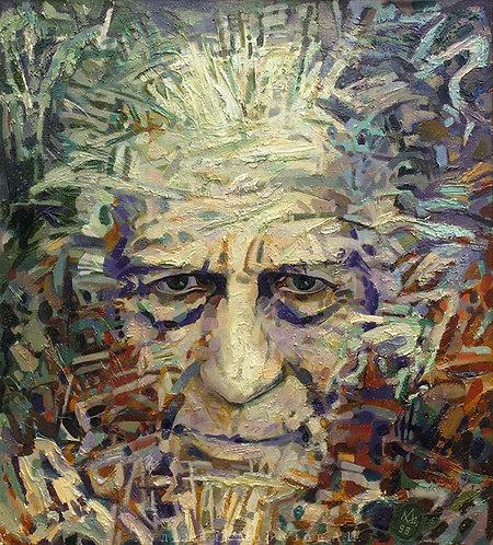 Портрет художника Александра Каштанова