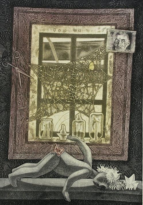 Деревенское окно