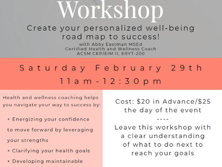 Wellness Coaching Workshop