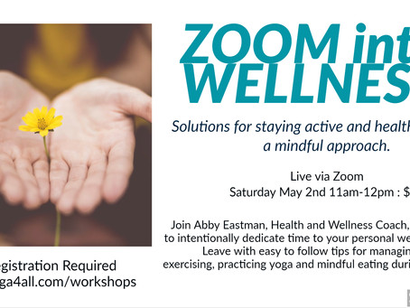 Zoom into Wellness