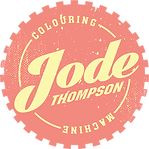 Jode Thompson Colouring Machine Logo