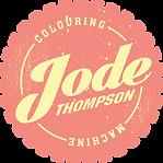 Jode Thompson Colouring Machine Logo