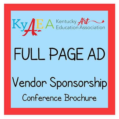 2021 Fall Conference Vendor Full Page Advertisement
