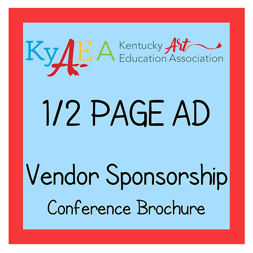 2021 Fall Conference Vendor 1/2 Page Advertisement