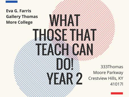 2nd Annual Teacher Art Show