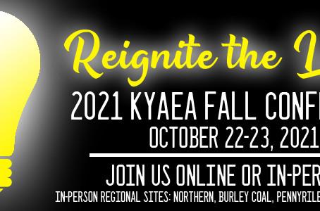 2021 KyAEA Fall Conference Information