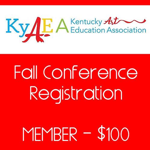 2021 Fall Conference Member Registration