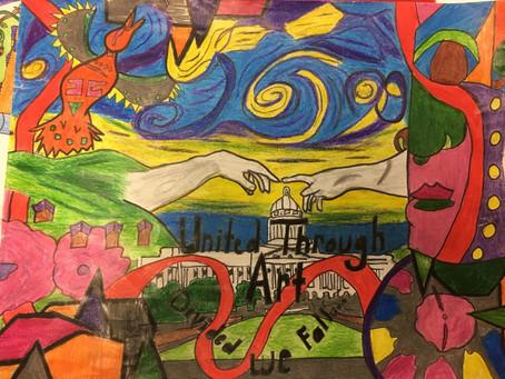 2016-17  Youth Art Month Winner