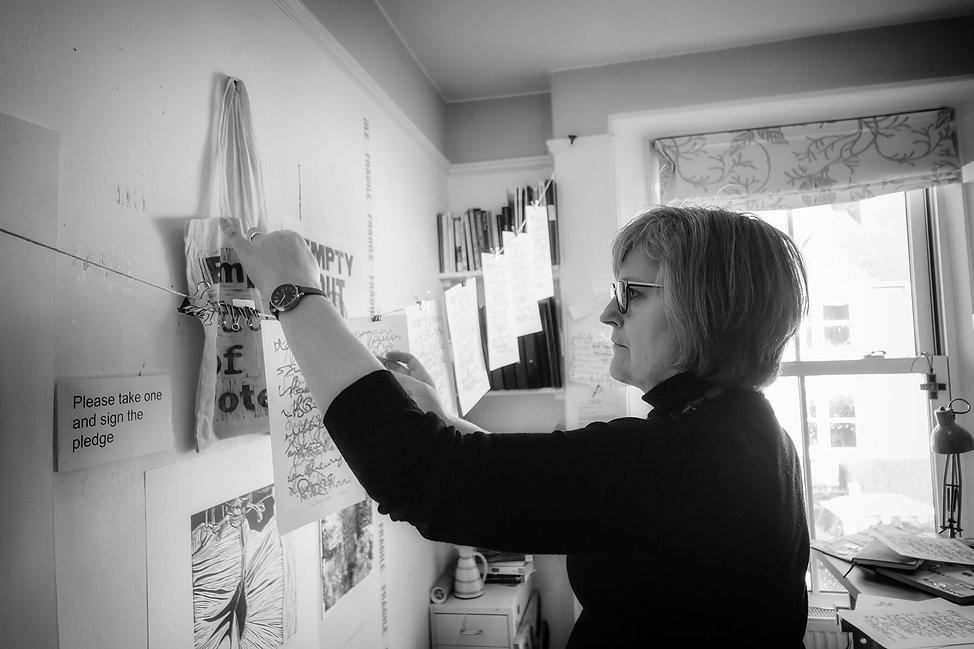 Printmaker Cornwall Caroline Wilkins