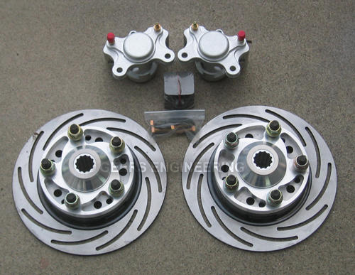 Rear Chevy Disk Brakes