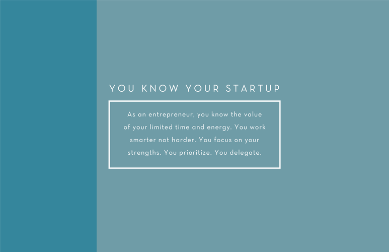 You Know Your Startup