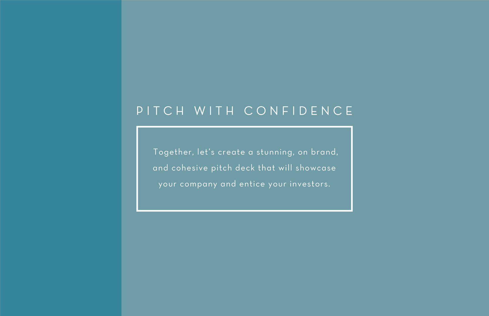 Pitch With Confidence