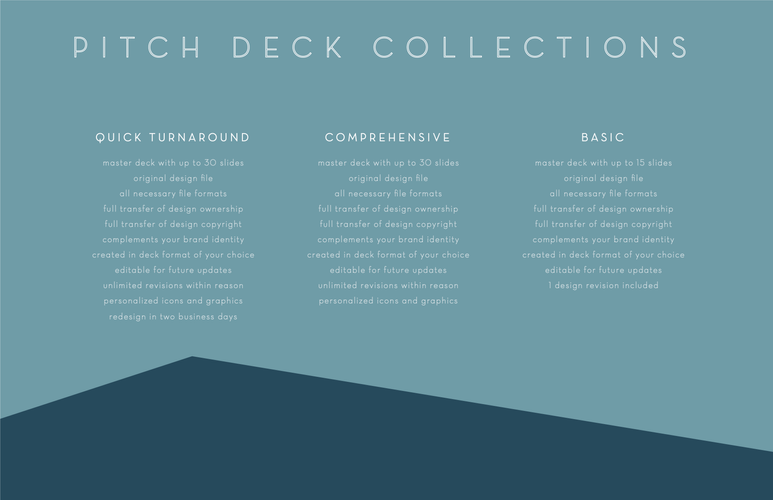 Pitch Deck Collections