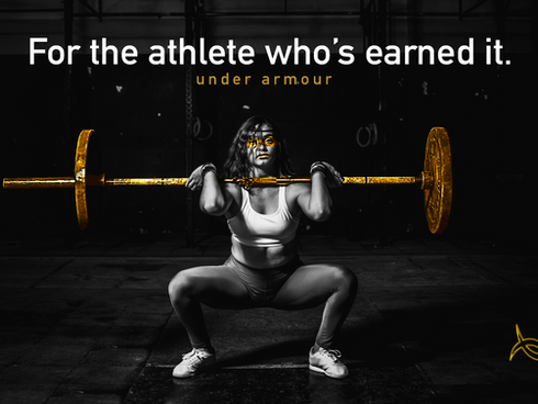 Under Armour: For the Athlete Who's Earned It