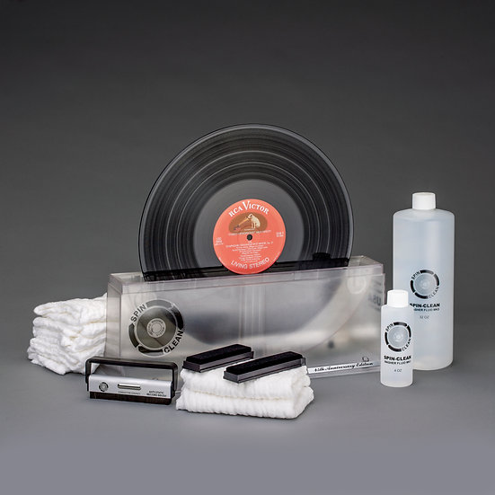 "Limited-Edition, 45th Anniversary Spin-Clean® Record Washer MKII ""Clear"" Deluxe"