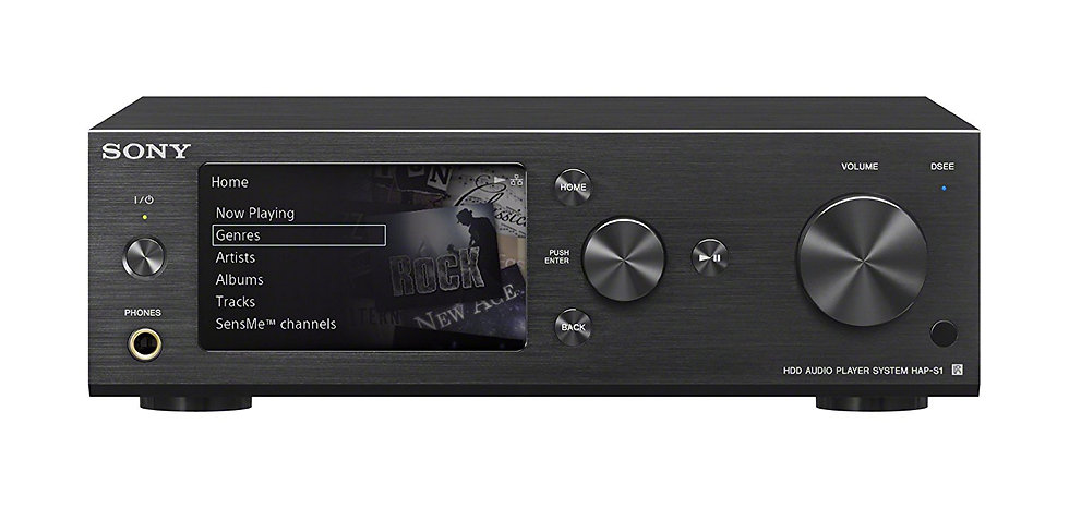 Sony HAP-S1 High-Resolution Audio HDD Player