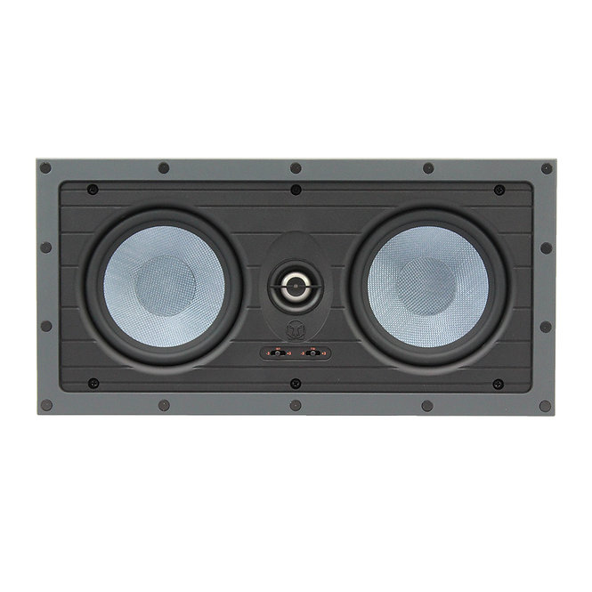 TDG Audio NFLCR-53 DUAL 5″ IN-WALL LCR SPEAKER