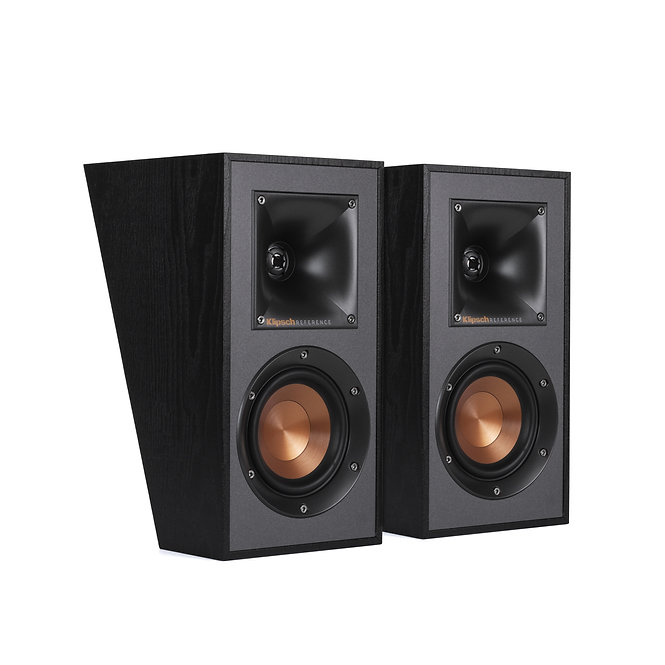 Klipsch R41SA 50-Watt Module Speaker - Pair - Black