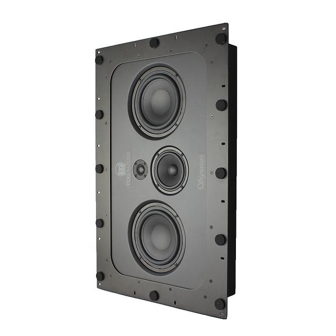 "TDG Audio IWLCR-66 DUAL 6½"" IN-WALL LCR SPEAKER"