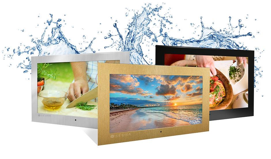 """Seura Television 19"""" Indoor Waterproof"""