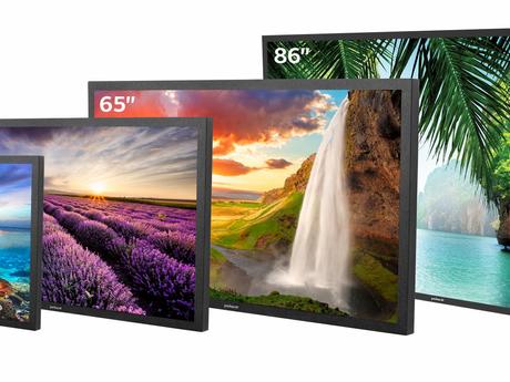 """Peerless-AV Outdoor TV`s 49"""",55"""",65"""",86"""" Outdoor Soundbar, Peerless-AV Outdoor Wall Mount"""