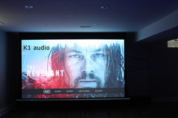 """135"""" In-Ceiling Screen Projector"""